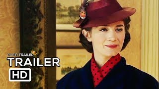Download MARY POPPINS RETURNS Official Trailer (2018) Emily Blunt Disney Movie HD Video