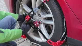 Download How to install snow chains on a Tesla Model S Video