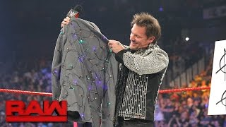 Download An apologetic Dean Ambrose gives Chris Jericho a new jacket: Raw, April 24, 2017 Video
