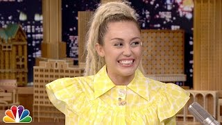 Download Emotional Interview with Miley Cyrus Video