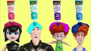 Download Hotel Transylvania 3 Bath Paint Fun Time with Mavis, Drac, Dennis & Bubbles Video