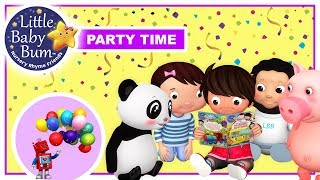 Download Little Baby Bum Party Song | LBB | Little Baby Boogie | Nursery Rhymes For Babies Video