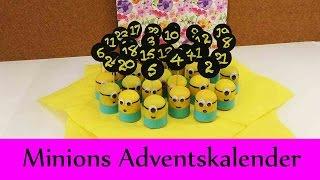 Download Minions Adventskalender | Super süßer Adventskalender für Minions Fans | Ü-Eier Minions DIY Video
