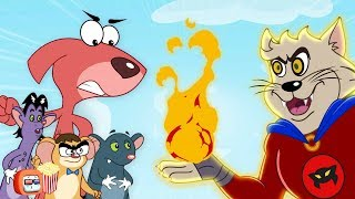 Download Rat-A-Tat Doggy Don Vs.Cat Man Full Movie   Popcorn Toonz l Children's Animation and Cartoon Movies Video
