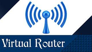 Download Virtual Router : como baixar, instalar, configurar e utilizar - Wi-Fi sem Roteador I Grátis Video