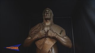Download WWE Network: The making of Seth Rollins' statue Video