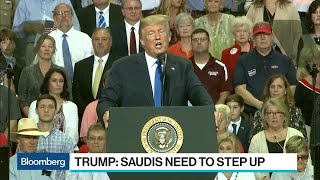 Download Trump Says Saudi King Wouldn't Last Two Weeks Without U.S. Help Video