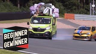Download Formel 1: Nico Hülkenberg mit Messie-Lieferwagen gegen Joko | Beginner gegen Gewinner | ProSieben Video