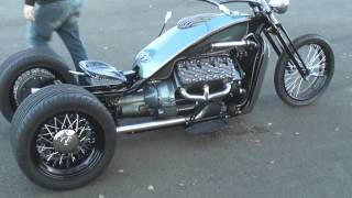 Download V8 Ford Flathead trike Video