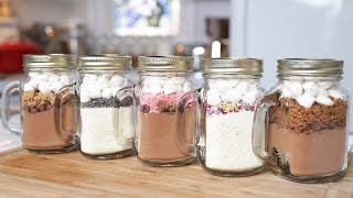 Download 5 Hot Chocolate-In-A-Jar Recipes | Edible Gifts Video