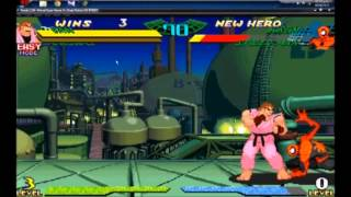 Download Marvel Super Heroes Vs. Street Fighter ″Todos los Hyper combo finish (todos los poderes)″ Video