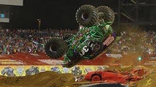 Download Best of Monster Truck - Grave Digger, Bigfoot, Maximum Destruction, Batman Video