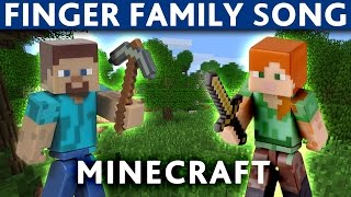 Download FINGER FAMILY NURSURY RHYMES Minecraft Creeper Video