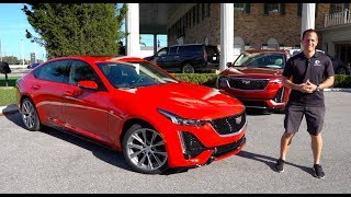 Download Is the 2020 Cadillac CT5 a BETTER luxury sedan than a BMW 3 series? Video