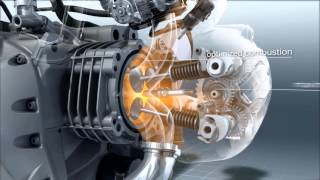 Download BMW R 1200 GS Engine in slow motion Video