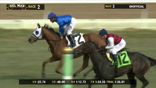 Download Alms wins Jimmy Durante Stakes (Grade III) race 2 at Del Mar 11/30/19 Video