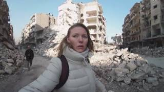 Download Aleppo streets 360: 'Surreal, cinematic in a bad way' Video