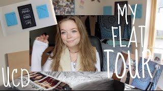 Download My Flat (Apartment) Tour!! || University College Dublin Video