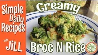 Download Vegan Creamy Cheesy Broccoli Rice Casserole Video