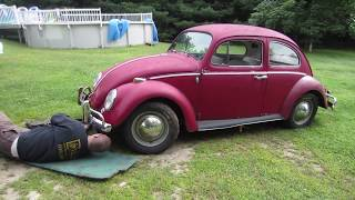 Download 1966 vw bug find. can we get it to run? Video
