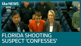 Download Florida shooting suspect Nikolas Cruz 'confesses' as lawyer says he is broken by attack | ITV News Video
