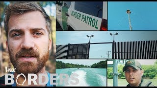 Download The wall of eyes trained on the US - Mexico border Video