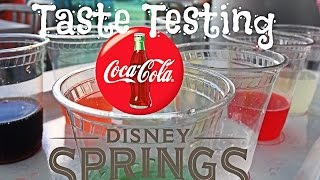 Download New Coca-Cola Store @ Disney Springs: Taste Testing Video