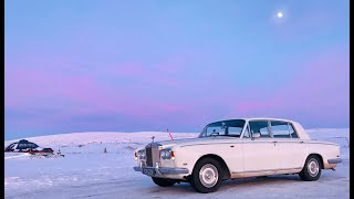 Download Driving a '69 Rolls Royce Shadow to the Arctic in the middle of winter Video