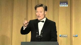 Download Conan O'Brien remarks at 2013 White House Correspondents' Dinner (C-SPAN) Video