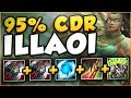 Download WTF?! NEW RUNE LETS ILLAOI UNLOCK 95% CDR?? ILLAOI SEASON 8 TOP GAMEPLAY! - League of Legends Video