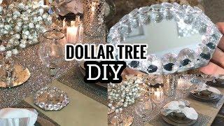 Download Dollar Tree DIY Home Decor Idea | Super Glam Winter Home Tour Tablescape! 😍 Video