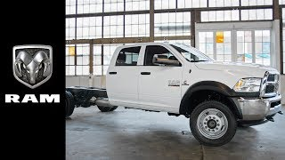 Download 2018 Ram 4500 and 5500 Chassis Cab | Product Features Video