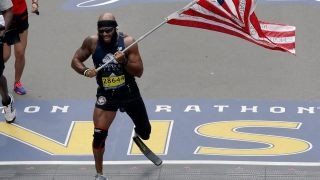 Download Wounded veterans conquer Boston Marathon Video