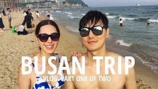 Download VLOG: Train to BUSAN 🌊 Pt.1 (자막)국제커플 부산 해운대 여행 & 맛집 파트 1 Video