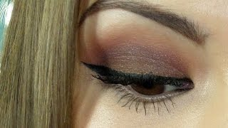 Download Maquillaje en tonos marrón/borgoña :) Video