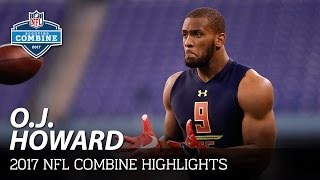 Download O.J. Howard (Alabama, TE) | 2017 NFL Combine Highlights Video
