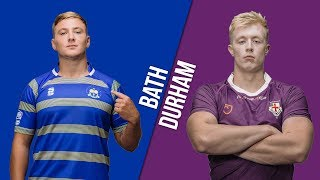 Download LIVE BUCS SUPER RUGBY 18/19: Bath vs Durham Video