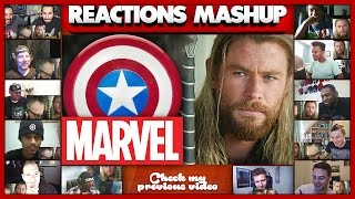 Download What THOR Was Doing During Captain America: Civil War Reactions Mashup Video