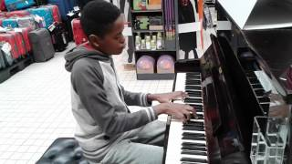 Download See you again, All of me Carrefour piano Video