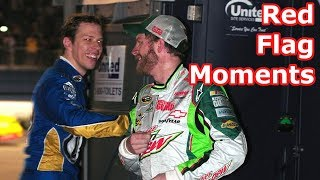 Download Funniest Red Flag Moments in NASCAR Video