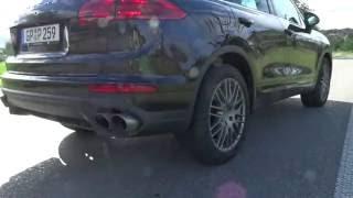 Download CRAZY GOING 420HP Porsche Cayenne S (Revs,Launch,Accelerations,Tunnel Blast + Video