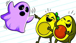 Download Vegetables Laughing At Ghost - Cartoons Video