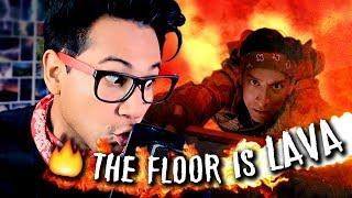 Download LAS MEJORES CAÍDAS DE ″THE FLOOR IS LAVA″ (El suelo es lava)   ANDYNSANE Video