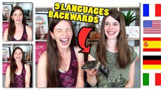 Download Can You Identify Languages SPOKEN BACKWARDS? (feat. Dana from Wanted Adventure) Video