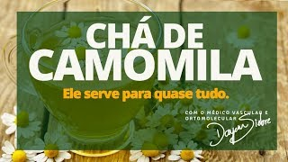 Download Benefícios do CHÁ DE CAMOMILA | Dr. Dayan Siebra Video