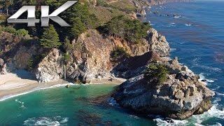 Download TIMELESS: Big Sur 4K Aerial Flight - California Coast | Nature Relaxation™ DJI Inspire1 X5R Footage Video