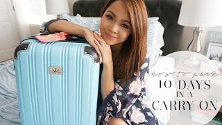 Download How To Pack: 10 Days in a Carry On | March in Italy | Charmaine Dulak Video