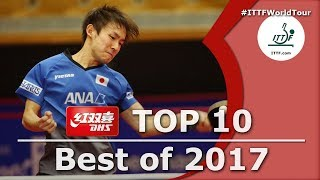 Download ITTF Top 10 Table Tennis Points of 2017, presented by DHS Video