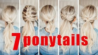 Download 7 EASY Ponytails for Spring and Summer! | Twist Me Pretty Video
