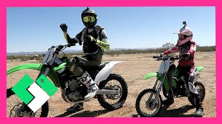 Download FAMILY DIRT BIKE RIDING (Day 1478) | Clintus.tv Video
